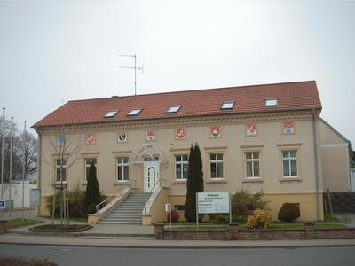 Rathaus der Gemeinde Sülzetal